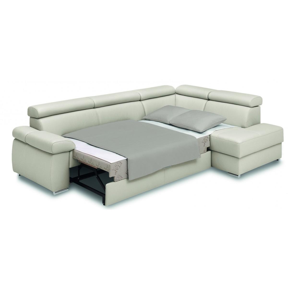 Zoom Narożnik 261x203cm Z Funkcją Spania Etap Sofa Dobra