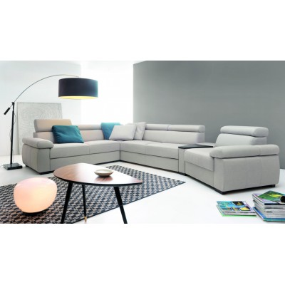 Zoom Narożnik 261x381cm z funkcją spania Etap Sofa