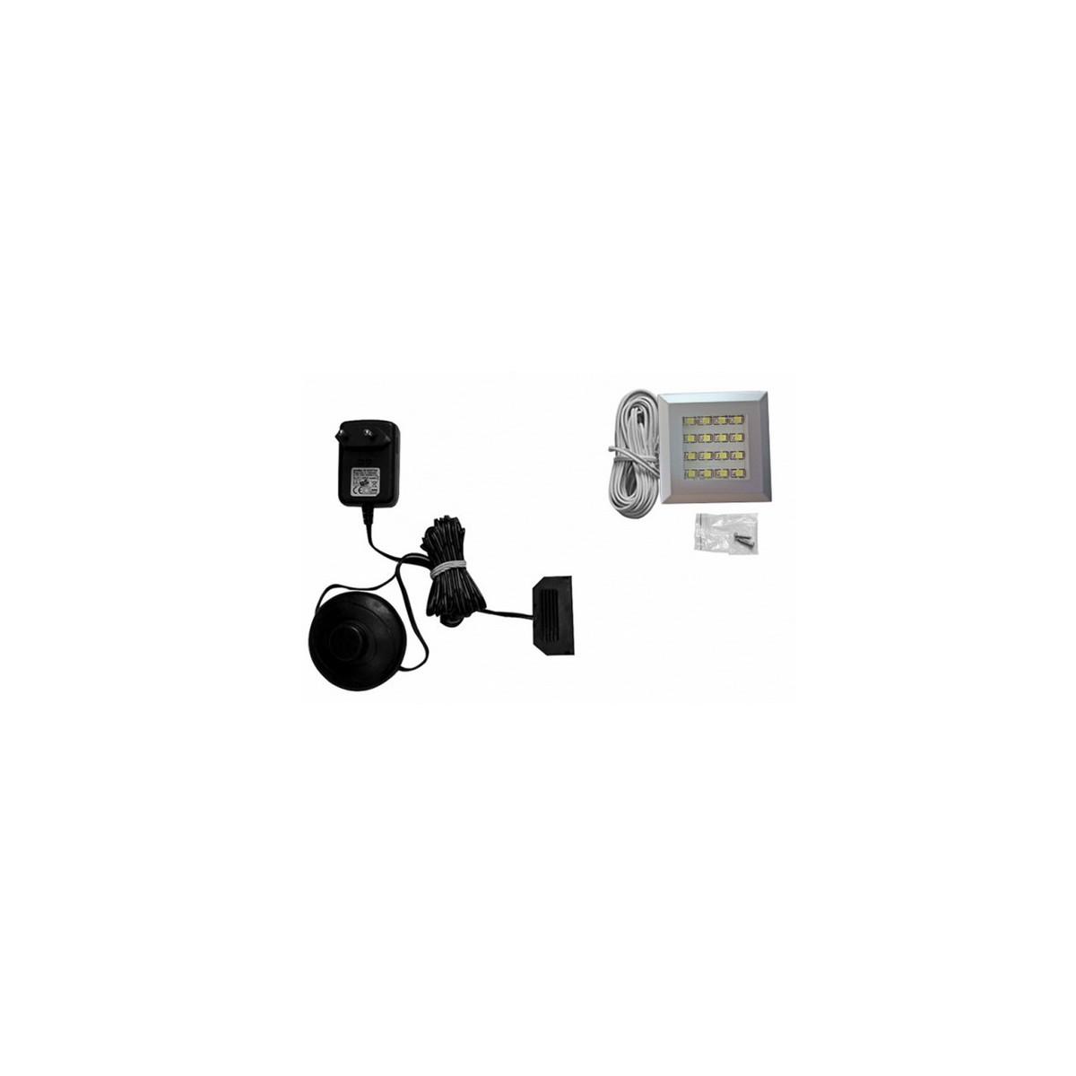 Zestaw oświetlenia LED 1-punktowy IZLED09-01-WK01 Forte