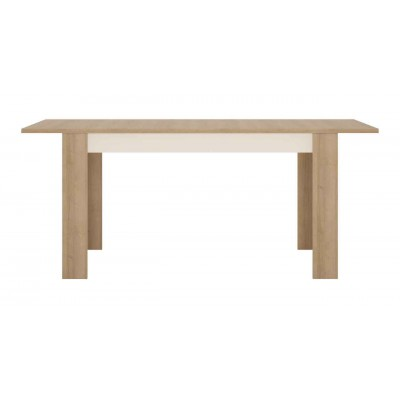 Stół rozkładany 140-180 cm x 90 cm (6 osób) Dąb riviera jasny Lyon Jasny LYOT03 Meble Wójcik