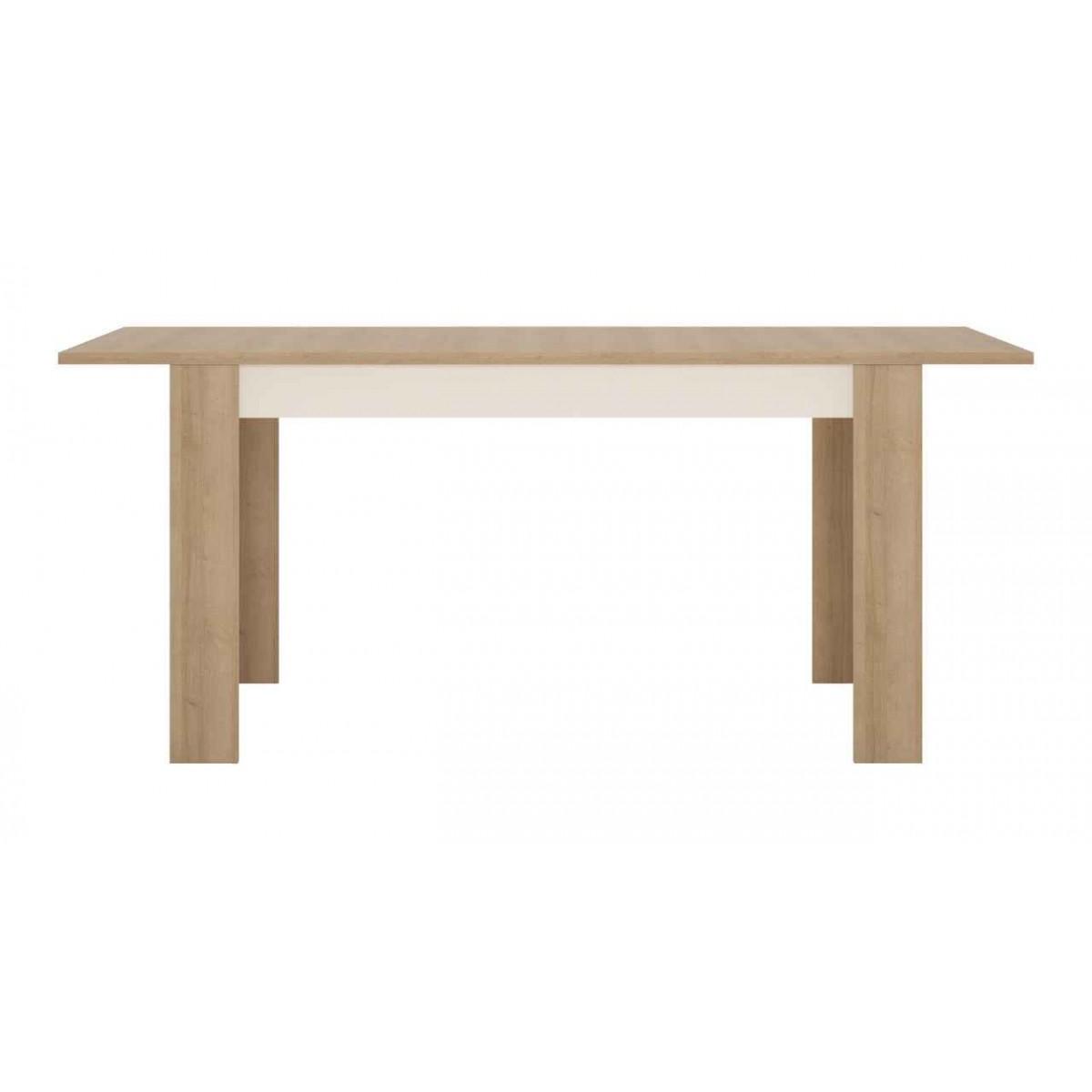 Stół rozkładany 140-180 cm x 90 cm (6 osób) Dąb riviera jasny Lyon Jasny LYOT03