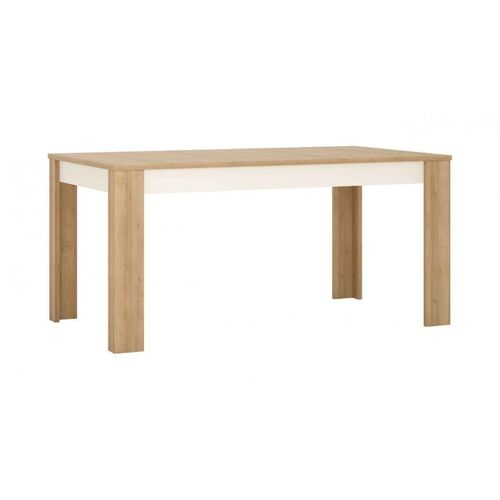 Stół rozkładany 160-200 cm x 90 cm (8 osób) Dąb riviera jasny Lyon Jasny LYOT04 Meble Wójcik