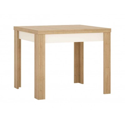 Stół rozkładany 90-180 cm x 90 cm (6 osób) Dąb riviera jasny Lyon Jasny LYOT05 Meble Wójcik