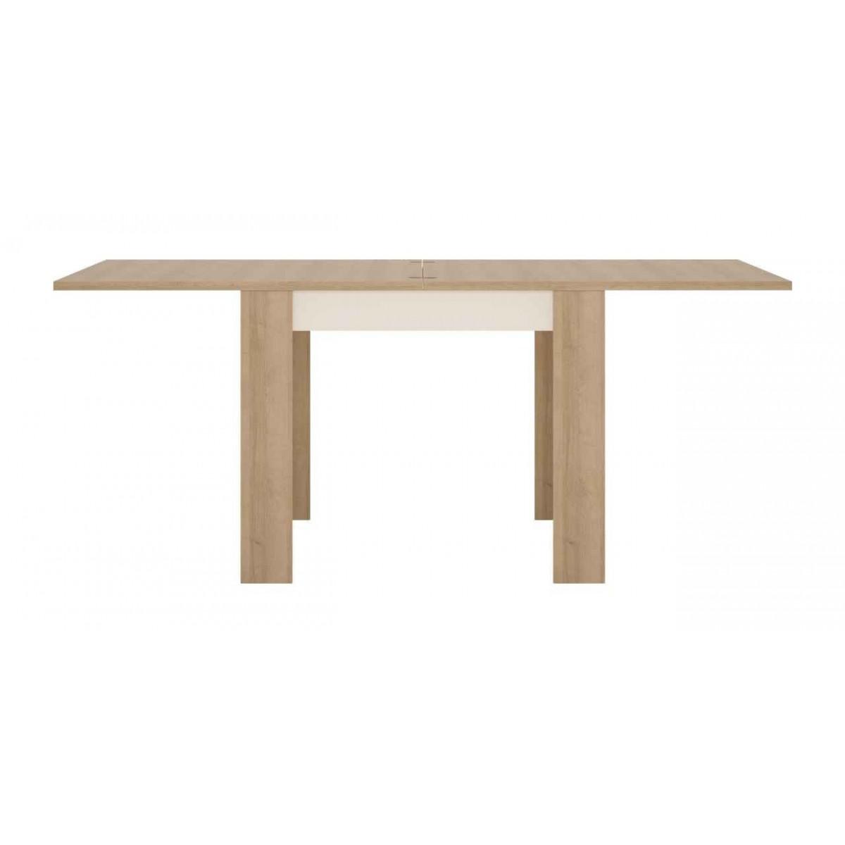 Stół rozkładany 90-180 cm x 90 cm (6 osób) Dąb riviera jasny Lyon Jasny LYOT05