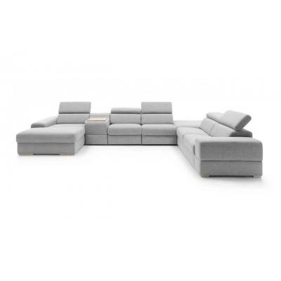 Plaza narożnik 426x292cm z funkcją spania i funkcją relax Gala Collezione