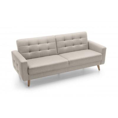 Sofa w stylu Skandynawskim 222 cm z funkcją spania NAPPA Gala Collezione