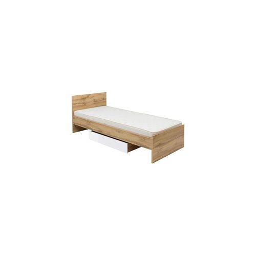 Zele łóżko 90