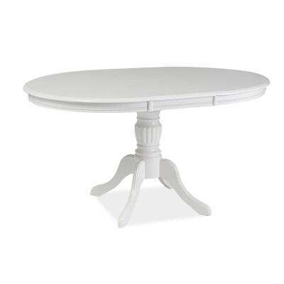 Stół Olivia stół okrągły rozkładany biały Signal