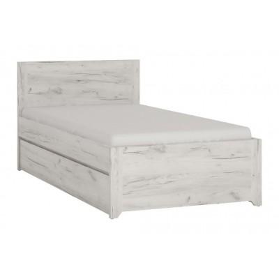 Łóżko Angel 91 Dąb White Craft Meble Wójcik