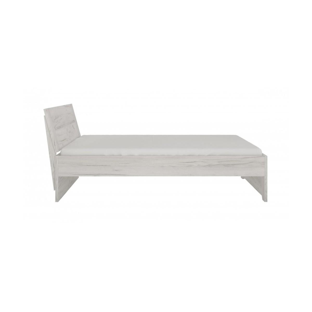 Łóżko Angel Typ 92 Dąb White Craft