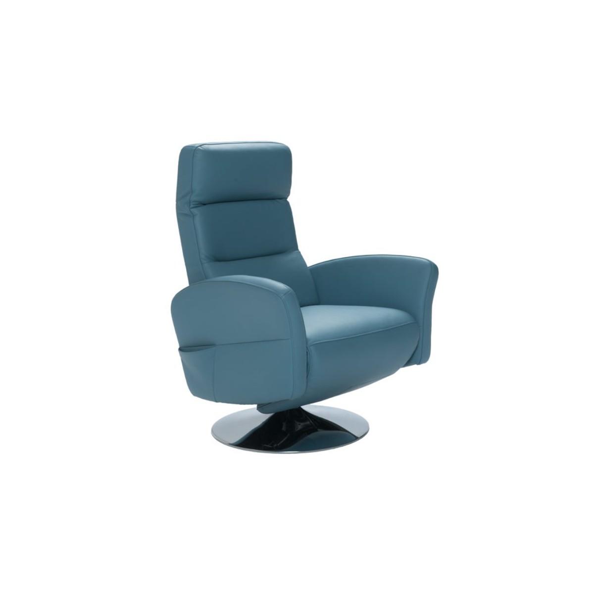 Basilico Fotel obrotowy z funkcją relax X041 Vero