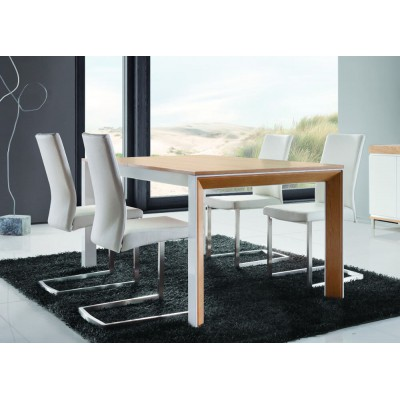 Rimini Standard Stół jadalniany rozkładany metalowy 180/240 Lissy