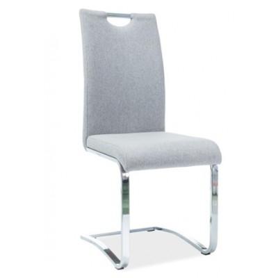 Krzesło H-790 szare tkanina Signal