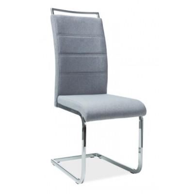 Krzesło H-441 szare tkanina