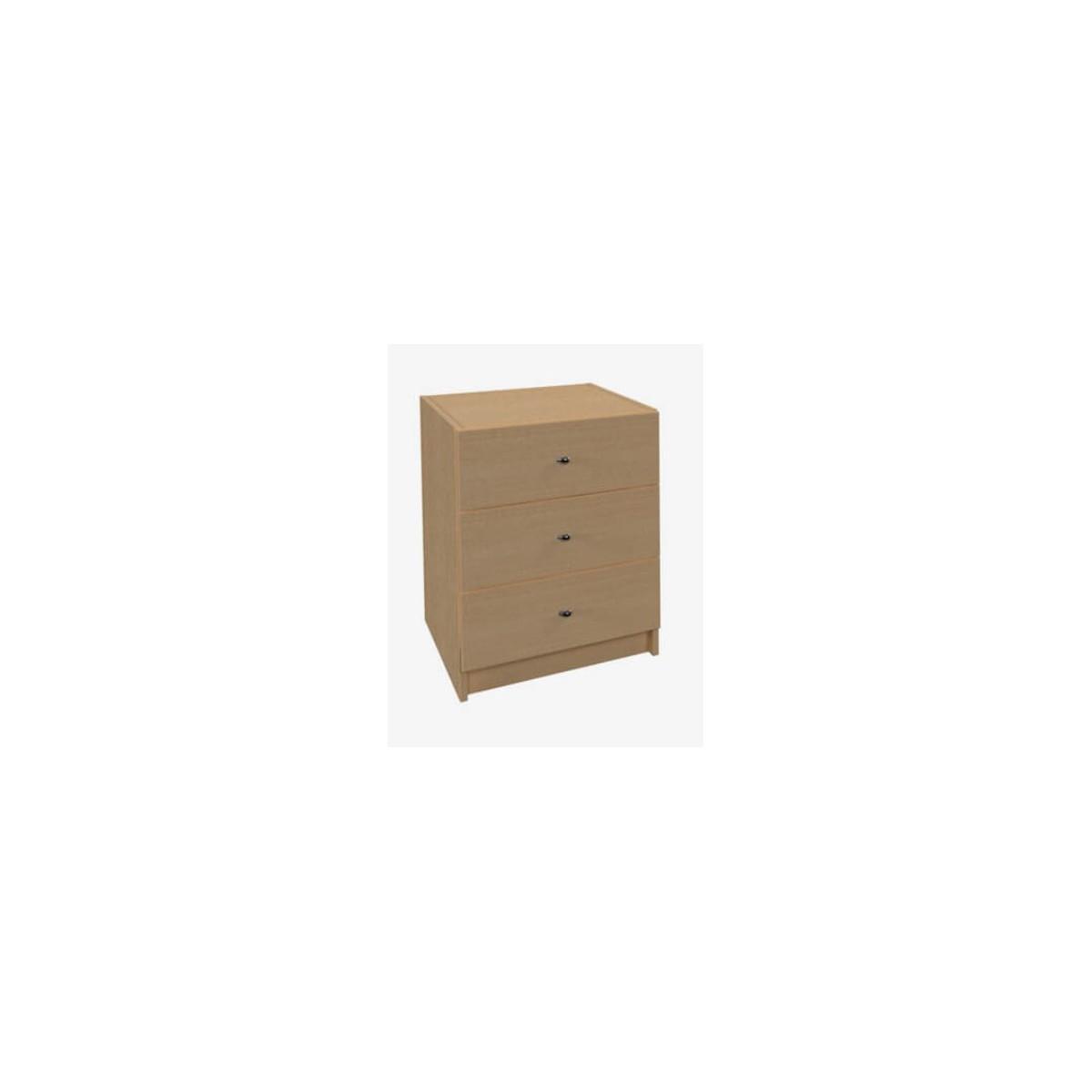 Cube Kontener do biurka bez intarsji