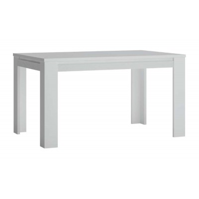 Stół rozkładany 140 cm x 90 cm (6 osób) biały alpin Novi NVIT02 Meble Wójcik