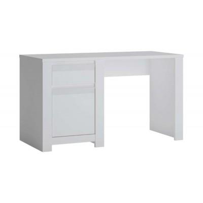 Biurko do pokoju młodzieżowego biały alpin Novi NVIB01