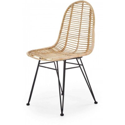 K337 krzesło rattan naturalny