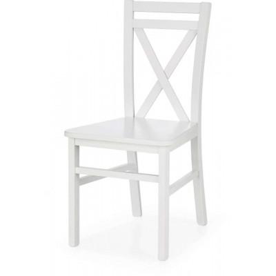 Dariusz 2 białe krzesło Halmar