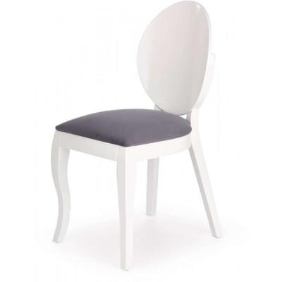 Verdi krzesło biały popiel Halmar