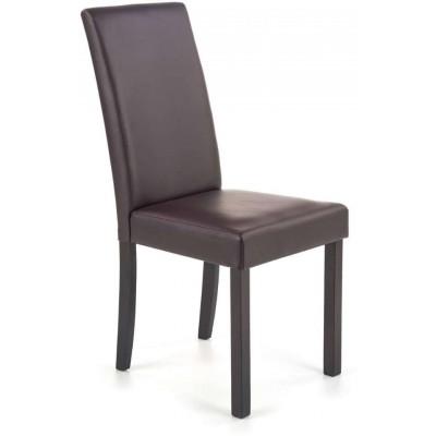 Nikko ciemny orzech/ciemny brąz krzesło Halmar
