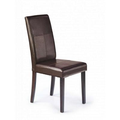 Kerry Bis krzesło wenge / ciemny brąz Halmar