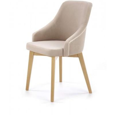 Toledo 2 krzesło dąb miodowy / SOLO 252 Halmar