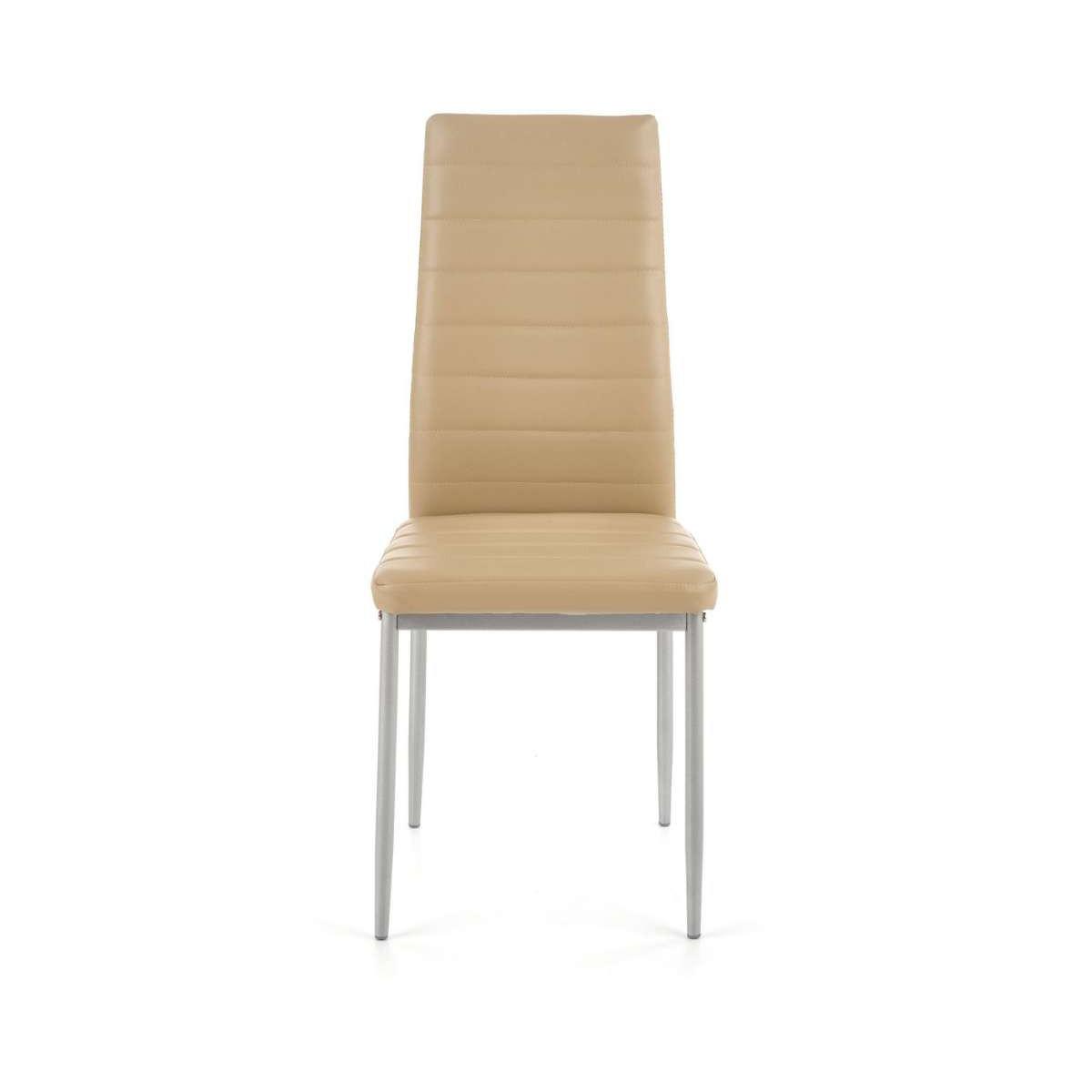 K70 krzesło popielaty-jasny brąz