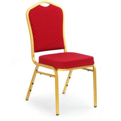 K66 krzesło bordowe Halmar