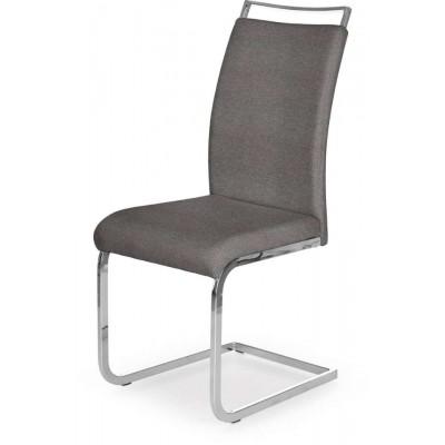 K348 krzesło chrom popiel Halmar