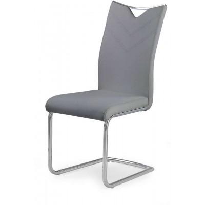 K224 krzesło popielate Halmar