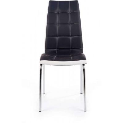 K186 krzesło czarno-białe Halmar