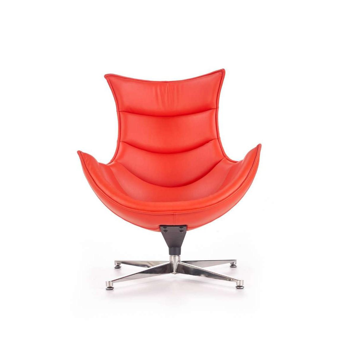 Luxor czerwony fotel