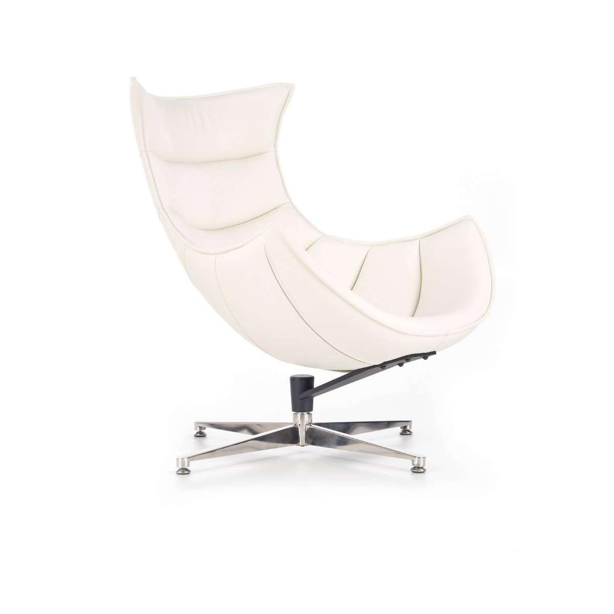 Luxor biały fotel