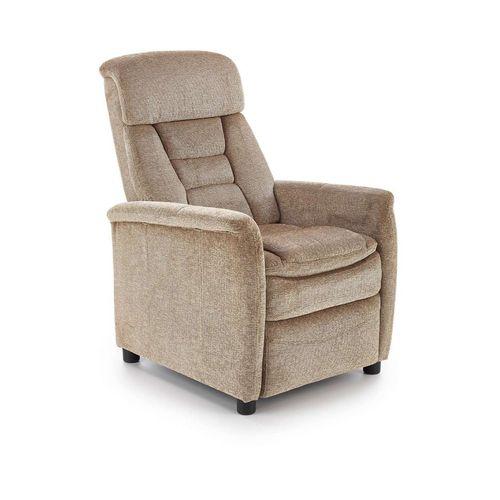 Jordan beżowy fotel relaks Halmar