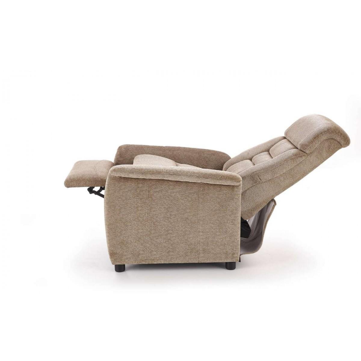 Jordan beżowy fotel relaks
