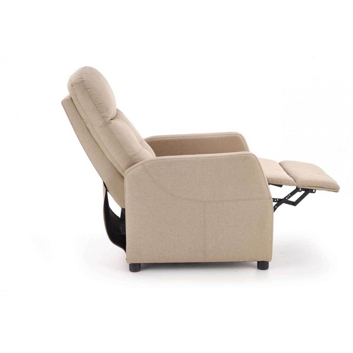 Felipe fotel relaks beżowy