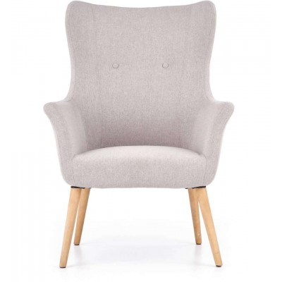 Cotto fotel jasny popiel Halmar
