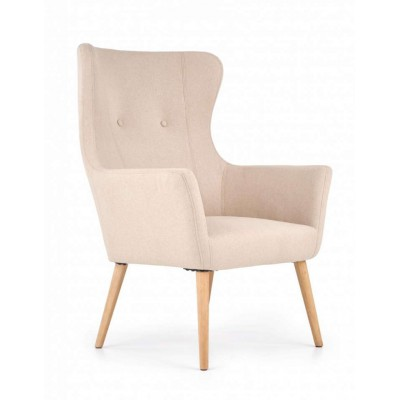 Cotto fotel beżowy Halmar
