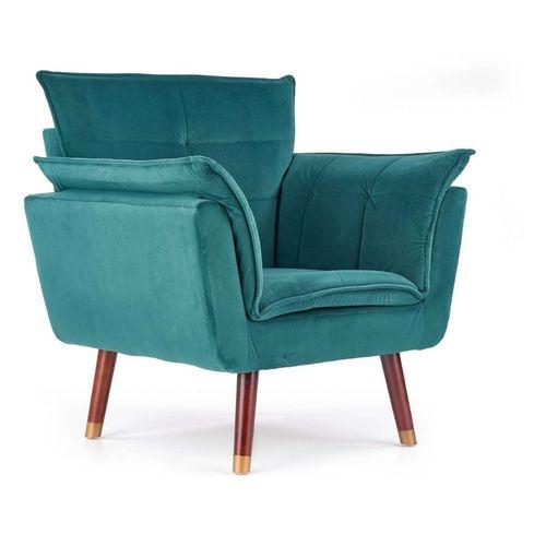 Rezzo fotel ciemny zielony Halmar