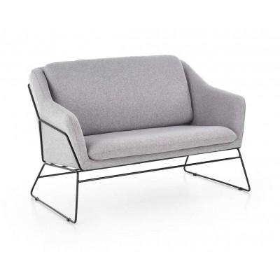 Soft 2 XL fotel jasny popielaty Halmar