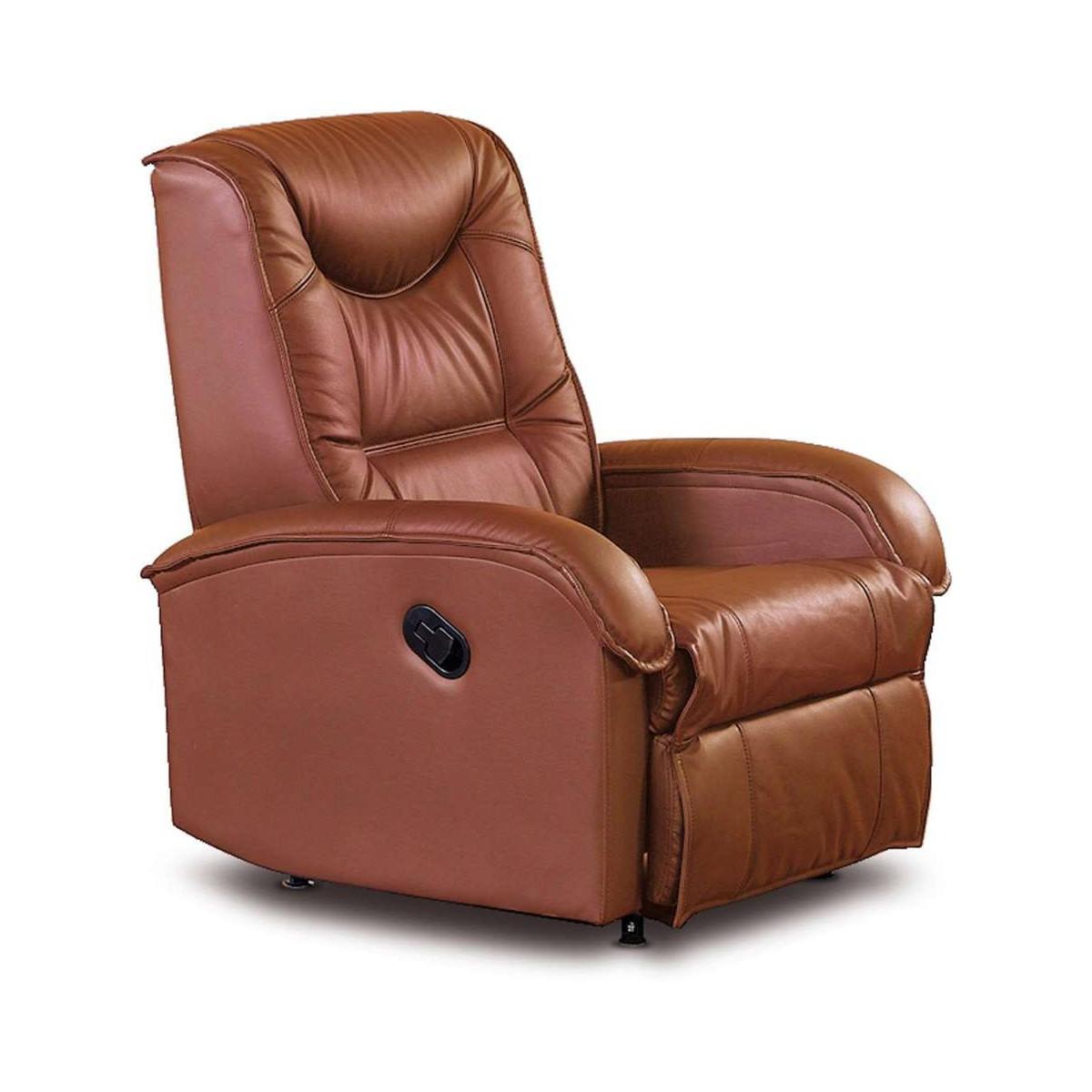 Jeff brązowy fotel relaks