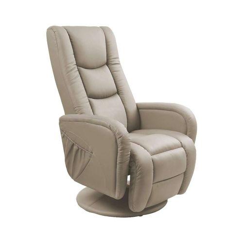 Pulsar cappucino fotel rozkładany z funkcją masażu i podgrzewania Halmar