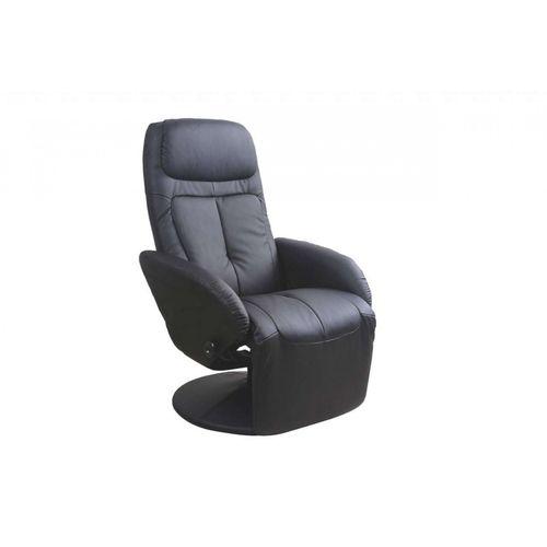 Optima czarny fotel Halmar