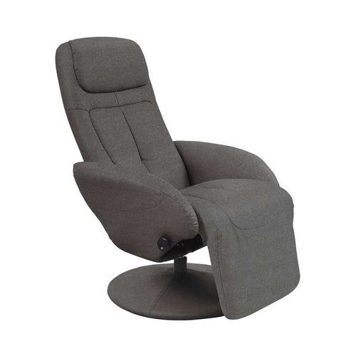 Optima 2 fotel rozkładany ciemny popiel Halmar