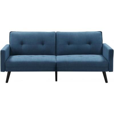 Corner sofa niebieska Halmar