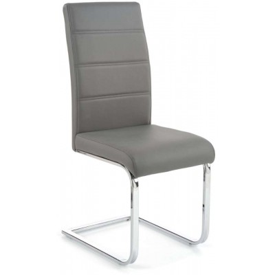 K85 krzesło popielate Halmar