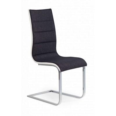 K104 krzesło czarno/białe Halmar