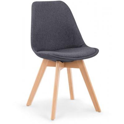 K303 krzesło ciemny popiel Halmar