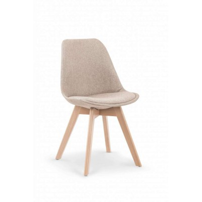 K303 krzesło beżowe Halmar